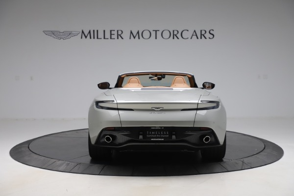 Used 2020 Aston Martin DB11 Volante Convertible for sale $239,900 at Alfa Romeo of Greenwich in Greenwich CT 06830 7