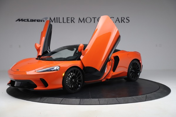 New 2020 McLaren GT Coupe for sale $246,975 at Alfa Romeo of Greenwich in Greenwich CT 06830 10