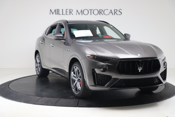 New 2020 Maserati Levante S Q4 GranSport for sale $101,535 at Alfa Romeo of Greenwich in Greenwich CT 06830 11