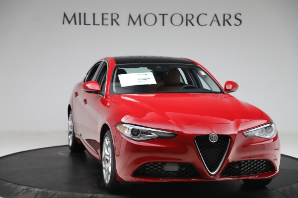 New 2020 Alfa Romeo Giulia Ti Q4 for sale $47,195 at Alfa Romeo of Greenwich in Greenwich CT 06830 11