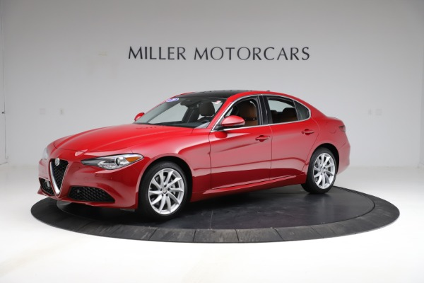 Used 2020 Alfa Romeo Giulia Q4 for sale Sold at Alfa Romeo of Greenwich in Greenwich CT 06830 2