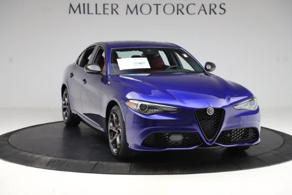 New 2020 Alfa Romeo Giulia Ti Sport Q4 for sale $50,445 at Alfa Romeo of Greenwich in Greenwich CT 06830 11
