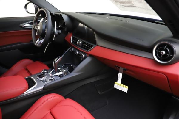 New 2020 Alfa Romeo Giulia Ti Sport Q4 for sale $50,445 at Alfa Romeo of Greenwich in Greenwich CT 06830 21