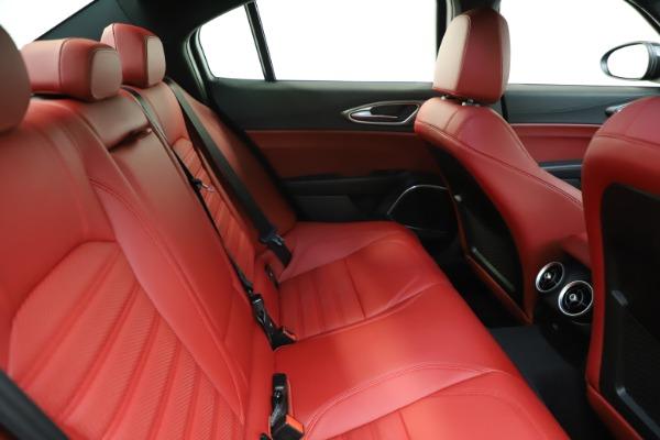 New 2020 Alfa Romeo Giulia Ti Sport Q4 for sale $50,445 at Alfa Romeo of Greenwich in Greenwich CT 06830 26