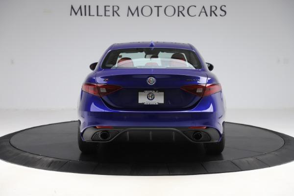 New 2020 Alfa Romeo Giulia Ti Sport Q4 for sale $50,445 at Alfa Romeo of Greenwich in Greenwich CT 06830 6
