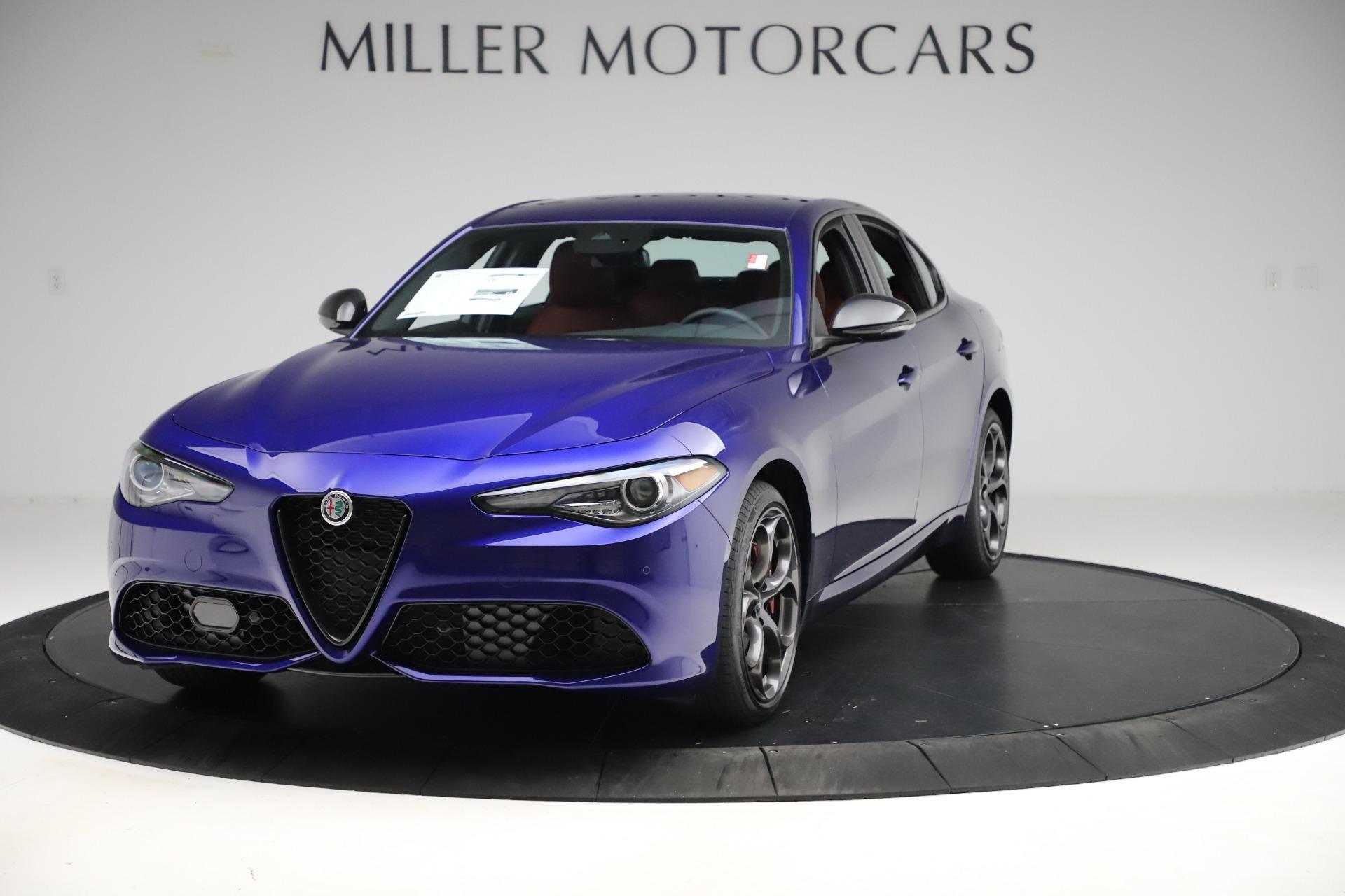 New 2020 Alfa Romeo Giulia Ti Sport Q4 for sale $50,445 at Alfa Romeo of Greenwich in Greenwich CT 06830 1