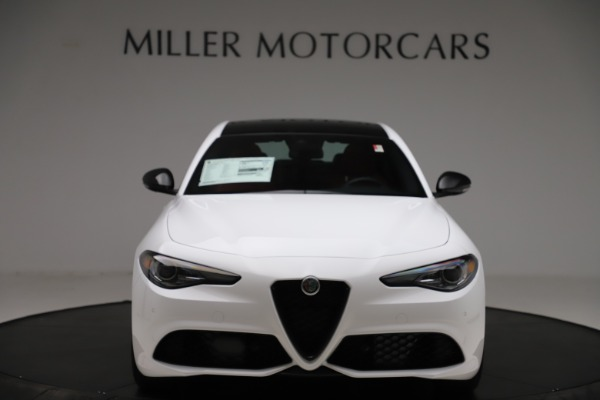 New 2020 Alfa Romeo Giulia Ti Sport Q4 for sale $51,995 at Alfa Romeo of Greenwich in Greenwich CT 06830 12