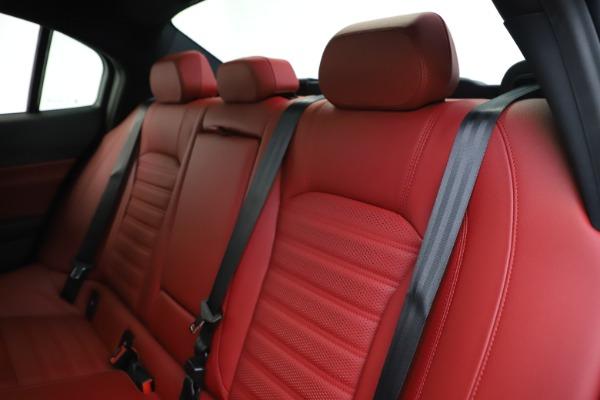New 2020 Alfa Romeo Giulia Ti Sport Q4 for sale $51,995 at Alfa Romeo of Greenwich in Greenwich CT 06830 19