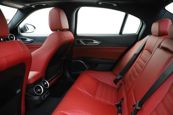 New 2020 Alfa Romeo Giulia Ti Sport Q4 for sale $51,995 at Alfa Romeo of Greenwich in Greenwich CT 06830 20