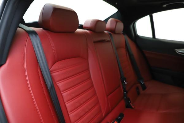 New 2020 Alfa Romeo Giulia Ti Sport Q4 for sale $51,995 at Alfa Romeo of Greenwich in Greenwich CT 06830 27