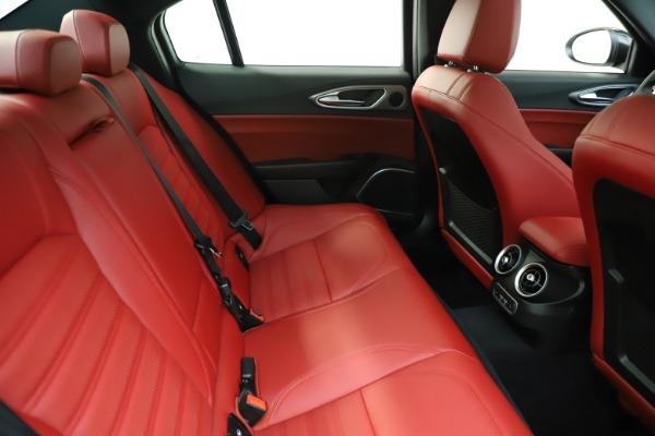 New 2020 Alfa Romeo Giulia Ti Sport Q4 for sale $51,995 at Alfa Romeo of Greenwich in Greenwich CT 06830 28