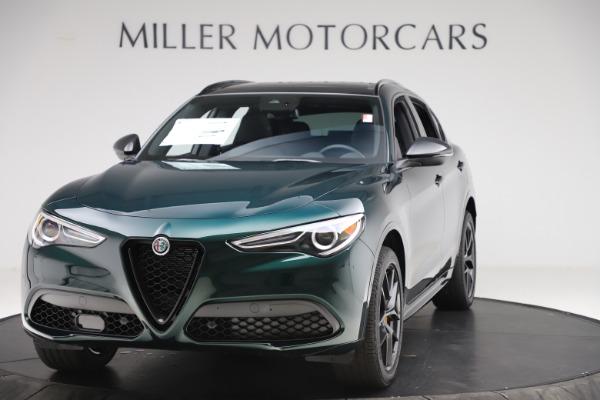 New 2020 Alfa Romeo Stelvio Ti Sport Q4 for sale $55,345 at Alfa Romeo of Greenwich in Greenwich CT 06830 1