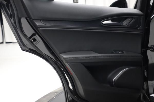 New 2020 Alfa Romeo Stelvio Q4 for sale $36,900 at Alfa Romeo of Greenwich in Greenwich CT 06830 21