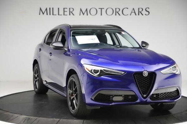New 2020 Alfa Romeo Stelvio Ti Q4 for sale $52,145 at Alfa Romeo of Greenwich in Greenwich CT 06830 11
