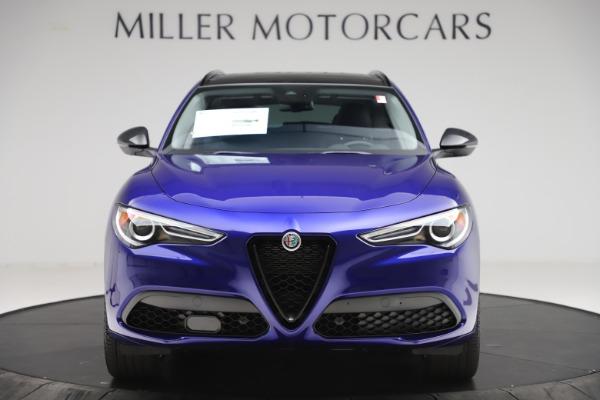 New 2020 Alfa Romeo Stelvio Ti Q4 for sale $52,145 at Alfa Romeo of Greenwich in Greenwich CT 06830 12