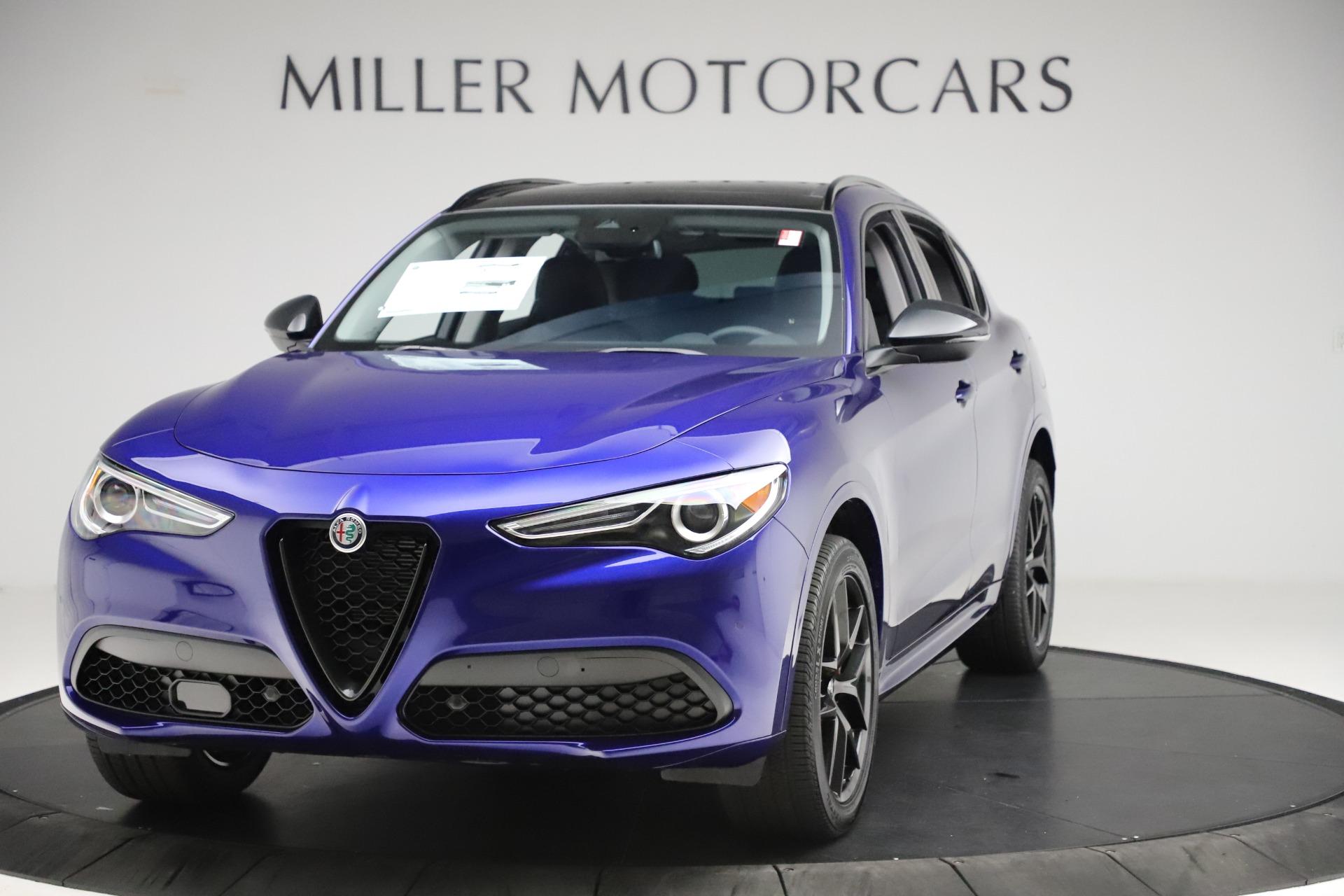 New 2020 Alfa Romeo Stelvio Ti Q4 for sale $52,145 at Alfa Romeo of Greenwich in Greenwich CT 06830 1