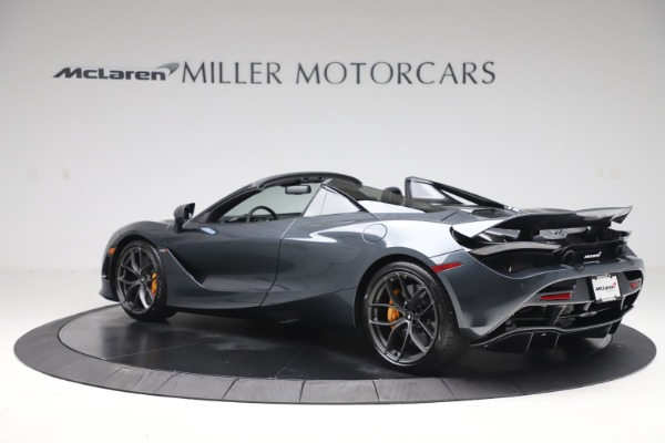 New 2020 McLaren 720S Spider Performance for sale $384,930 at Alfa Romeo of Greenwich in Greenwich CT 06830 3