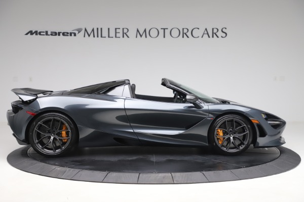 New 2020 McLaren 720S Spider Performance for sale $384,930 at Alfa Romeo of Greenwich in Greenwich CT 06830 8