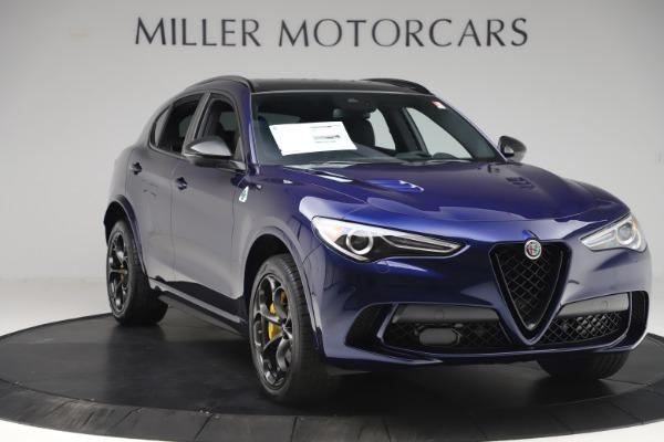 New 2020 Alfa Romeo Stelvio Quadrifoglio for sale $88,845 at Alfa Romeo of Greenwich in Greenwich CT 06830 11