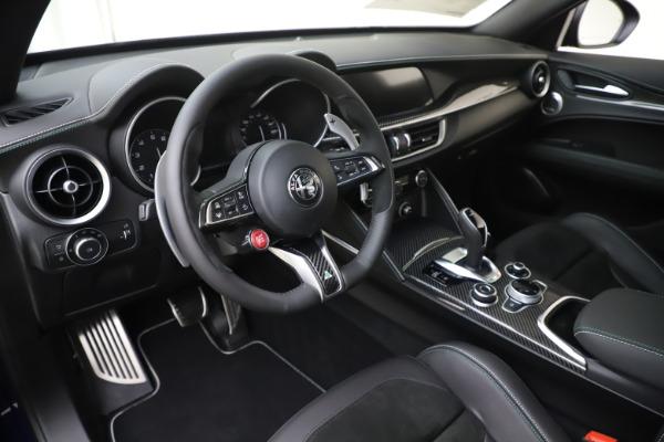 New 2020 Alfa Romeo Stelvio Quadrifoglio for sale $88,845 at Alfa Romeo of Greenwich in Greenwich CT 06830 13