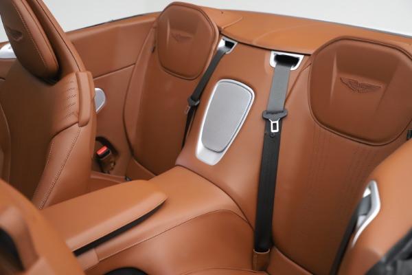 New 2020 Aston Martin DB11 Volante Convertible for sale $244,066 at Alfa Romeo of Greenwich in Greenwich CT 06830 18