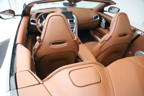 New 2020 Aston Martin DB11 Volante Convertible for sale $244,066 at Alfa Romeo of Greenwich in Greenwich CT 06830 22