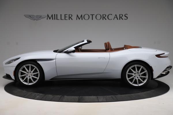 New 2020 Aston Martin DB11 Volante Convertible for sale $244,066 at Alfa Romeo of Greenwich in Greenwich CT 06830 4