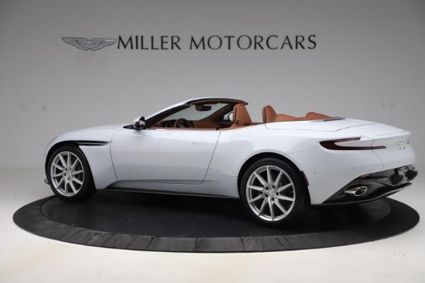 New 2020 Aston Martin DB11 Volante Convertible for sale $244,066 at Alfa Romeo of Greenwich in Greenwich CT 06830 5