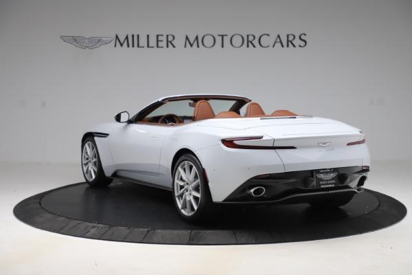 New 2020 Aston Martin DB11 Volante Convertible for sale $244,066 at Alfa Romeo of Greenwich in Greenwich CT 06830 6