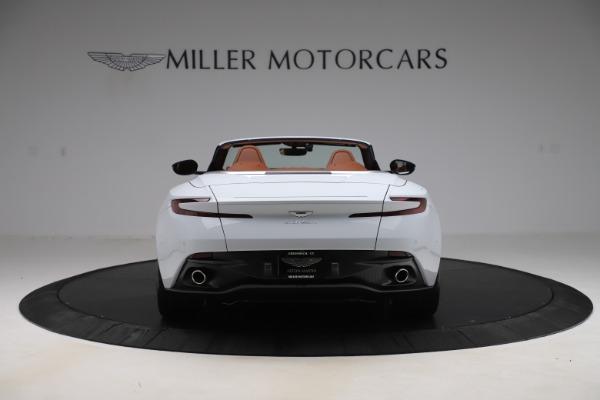 New 2020 Aston Martin DB11 Volante Convertible for sale $244,066 at Alfa Romeo of Greenwich in Greenwich CT 06830 7