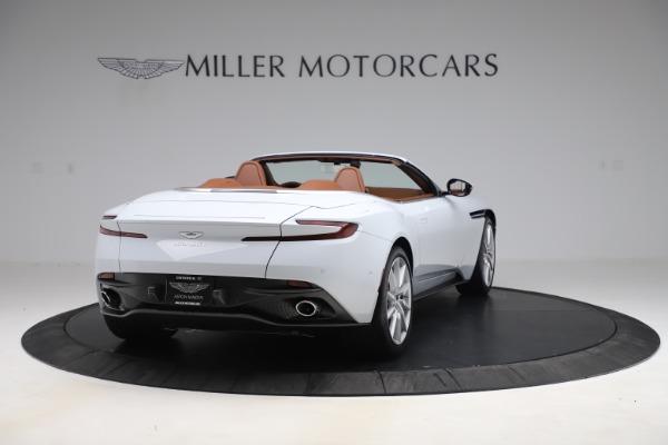 New 2020 Aston Martin DB11 Volante Convertible for sale $244,066 at Alfa Romeo of Greenwich in Greenwich CT 06830 8