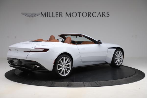 New 2020 Aston Martin DB11 Volante Convertible for sale $244,066 at Alfa Romeo of Greenwich in Greenwich CT 06830 9