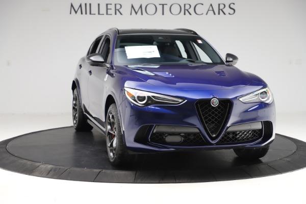 New 2020 Alfa Romeo Stelvio Quadrifoglio for sale $88,390 at Alfa Romeo of Greenwich in Greenwich CT 06830 11