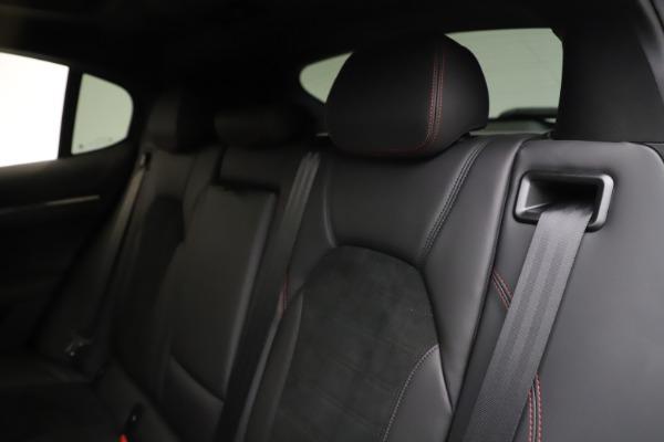 New 2020 Alfa Romeo Stelvio Quadrifoglio for sale $88,390 at Alfa Romeo of Greenwich in Greenwich CT 06830 18