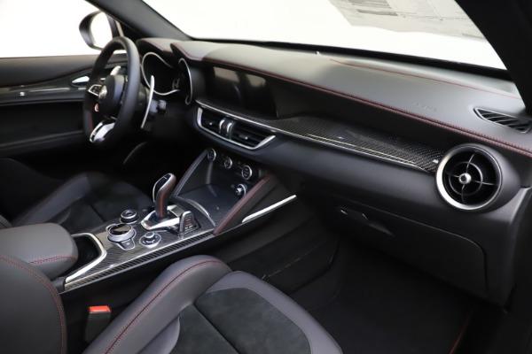 New 2020 Alfa Romeo Stelvio Quadrifoglio for sale $88,390 at Alfa Romeo of Greenwich in Greenwich CT 06830 22
