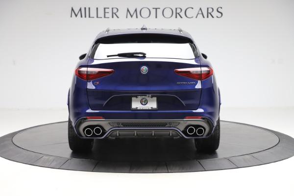 New 2020 Alfa Romeo Stelvio Quadrifoglio for sale $88,390 at Alfa Romeo of Greenwich in Greenwich CT 06830 6