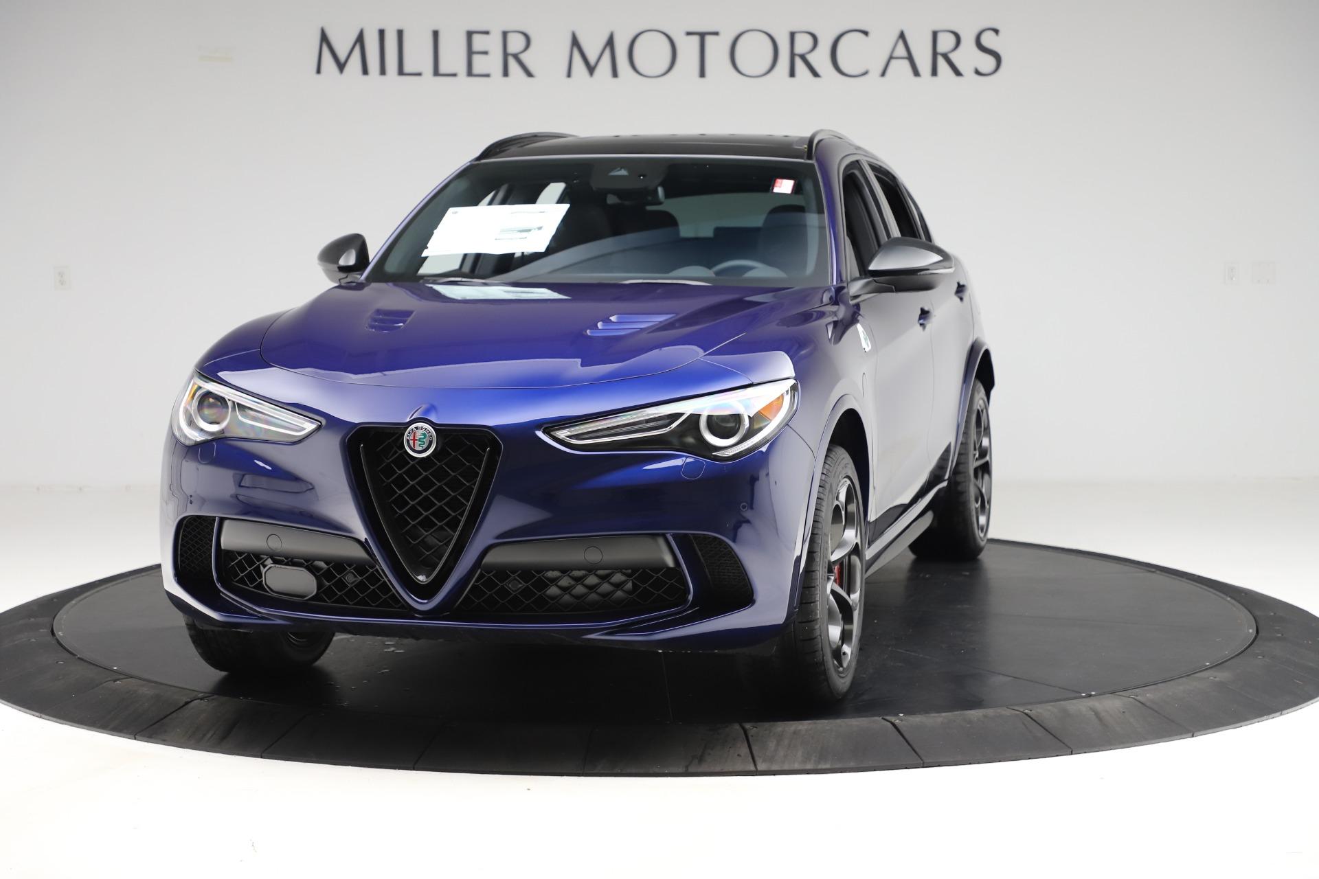 New 2020 Alfa Romeo Stelvio Quadrifoglio for sale $88,390 at Alfa Romeo of Greenwich in Greenwich CT 06830 1