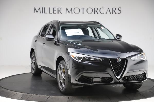 New 2020 Alfa Romeo Stelvio Sport Q4 for sale $49,695 at Alfa Romeo of Greenwich in Greenwich CT 06830 11