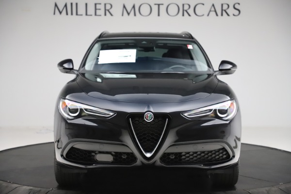 New 2020 Alfa Romeo Stelvio Sport Q4 for sale $49,695 at Alfa Romeo of Greenwich in Greenwich CT 06830 12
