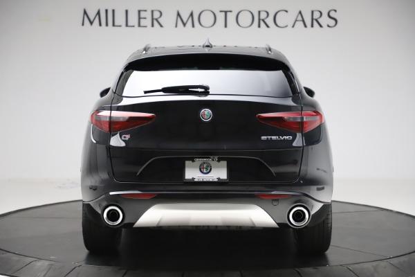 New 2020 Alfa Romeo Stelvio Sport Q4 for sale $49,695 at Alfa Romeo of Greenwich in Greenwich CT 06830 6