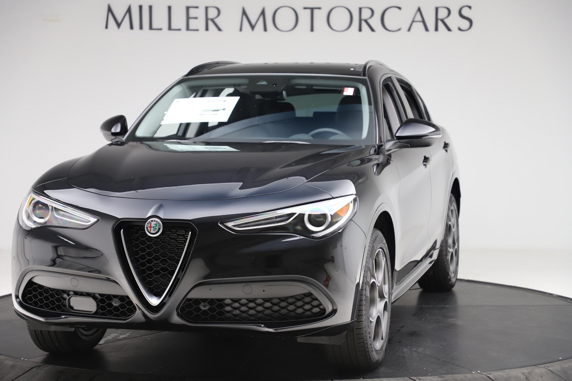 New 2020 Alfa Romeo Stelvio Sport Q4 for sale $49,695 at Alfa Romeo of Greenwich in Greenwich CT 06830 1