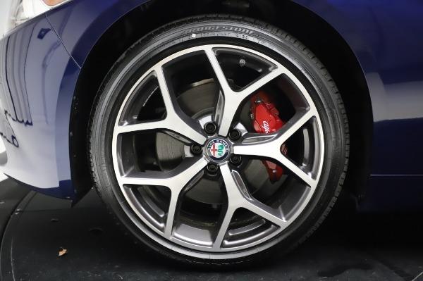 New 2020 Alfa Romeo Giulia Ti Q4 for sale Sold at Alfa Romeo of Greenwich in Greenwich CT 06830 14