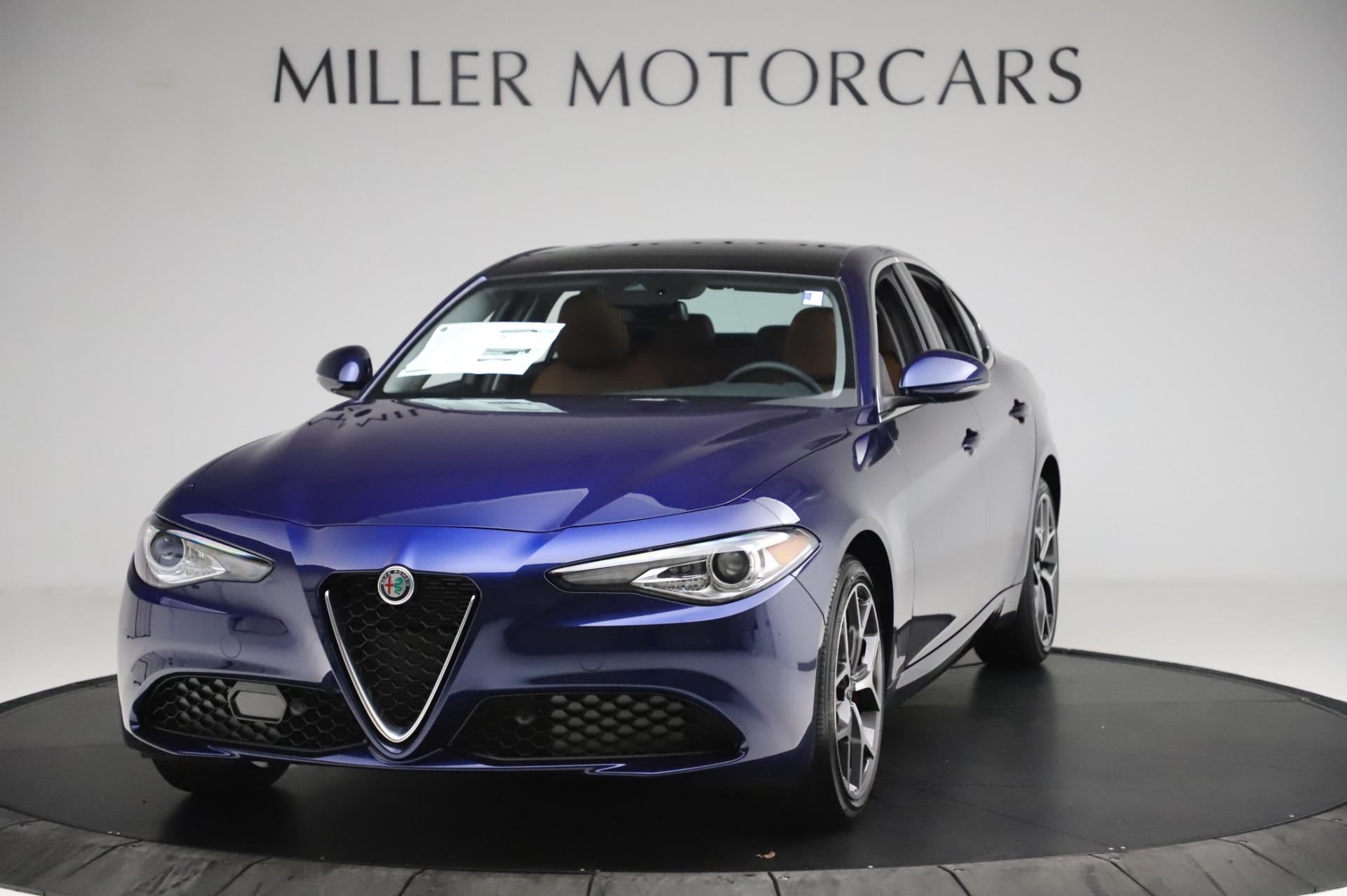 New 2020 Alfa Romeo Giulia Ti Q4 for sale $51,145 at Alfa Romeo of Greenwich in Greenwich CT 06830 1