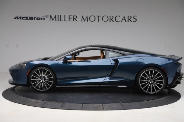 New 2020 McLaren GT Coupe for sale $236,675 at Alfa Romeo of Greenwich in Greenwich CT 06830 3