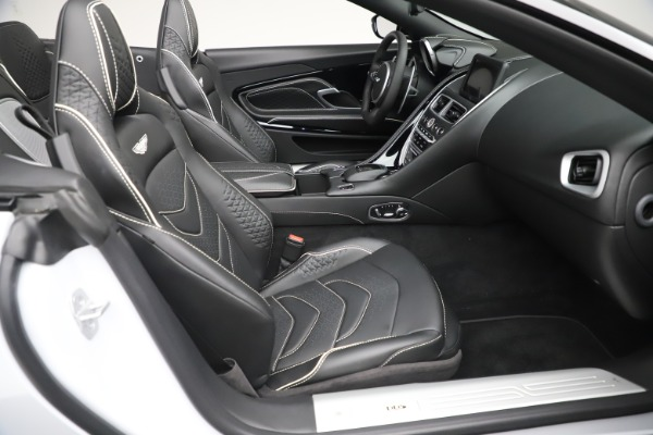New 2020 Aston Martin DBS Superleggera Volante Convertible for sale $353,931 at Alfa Romeo of Greenwich in Greenwich CT 06830 18