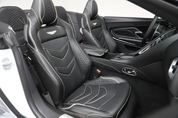 New 2020 Aston Martin DBS Superleggera Volante Convertible for sale $353,931 at Alfa Romeo of Greenwich in Greenwich CT 06830 19