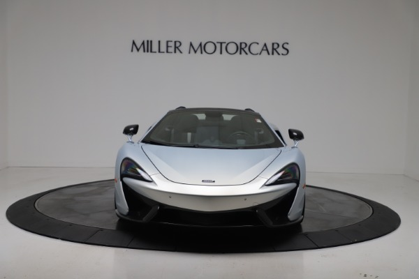 New 2020 McLaren 570S Spider Convertible for sale $256,990 at Alfa Romeo of Greenwich in Greenwich CT 06830 11