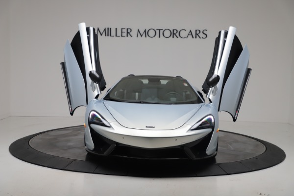 New 2020 McLaren 570S Spider Convertible for sale $256,990 at Alfa Romeo of Greenwich in Greenwich CT 06830 12