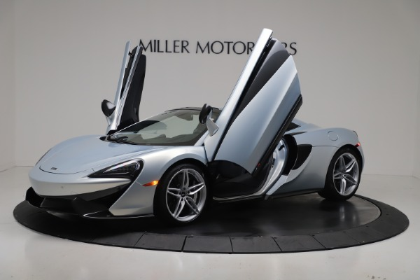 New 2020 McLaren 570S Spider Convertible for sale $256,990 at Alfa Romeo of Greenwich in Greenwich CT 06830 13