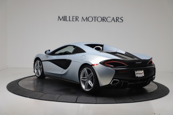 New 2020 McLaren 570S Spider Convertible for sale $256,990 at Alfa Romeo of Greenwich in Greenwich CT 06830 17